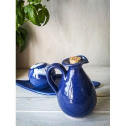 polikala.com ceramika z Krety, Laventzakis ceramics, kolor: kobalt