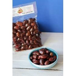 polikala oliwki kalamata w occie z czerwonego winaciemne pakowane próżniowo