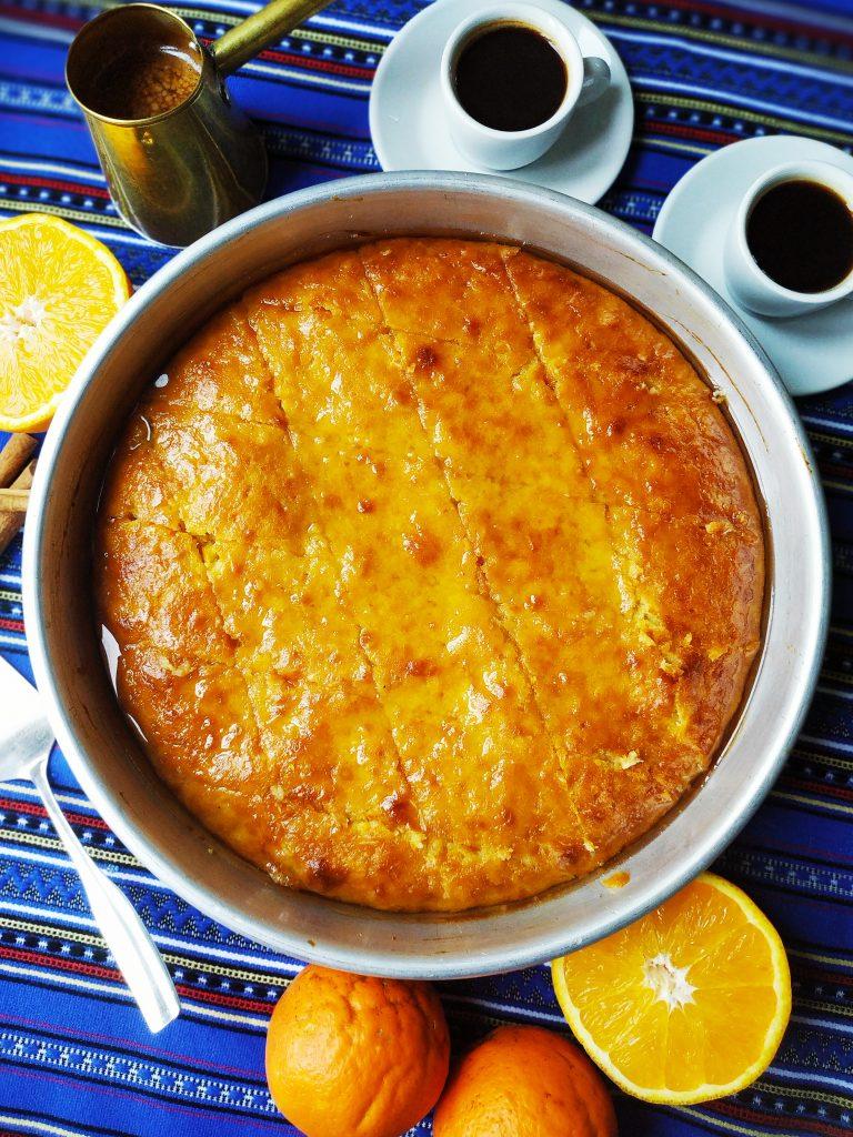 polikala portokalopita ciasto pomarańczowe z Krety