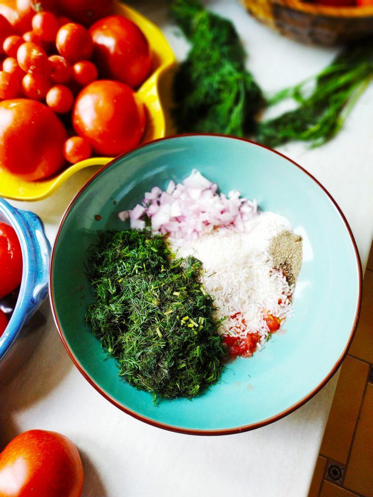 polikala gemista faszerowane warzywa po grecku