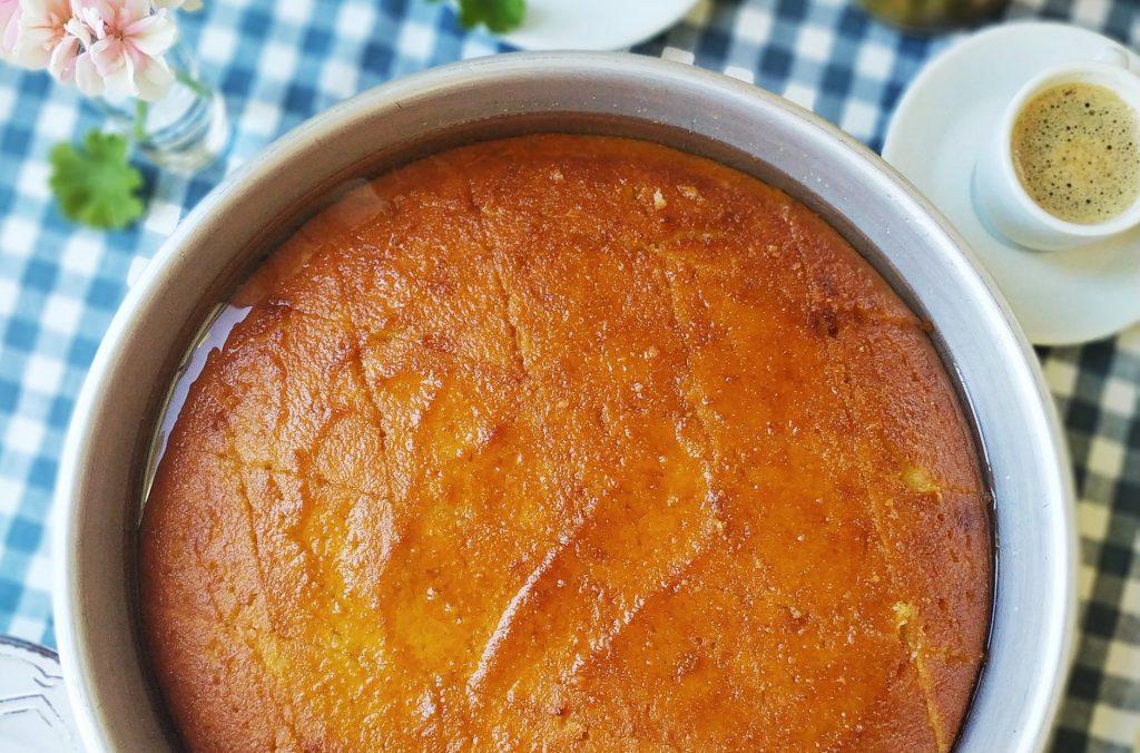 polikala ravani greckie ciasto z semoliny kaszy manny