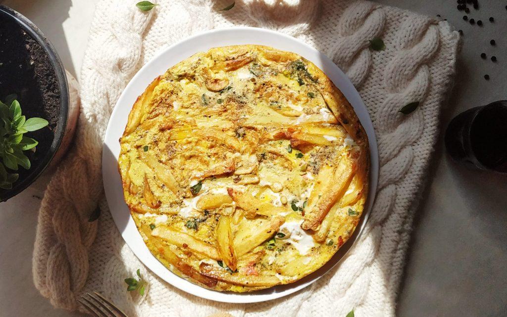 polikala sfougato kritiko omlet z krety