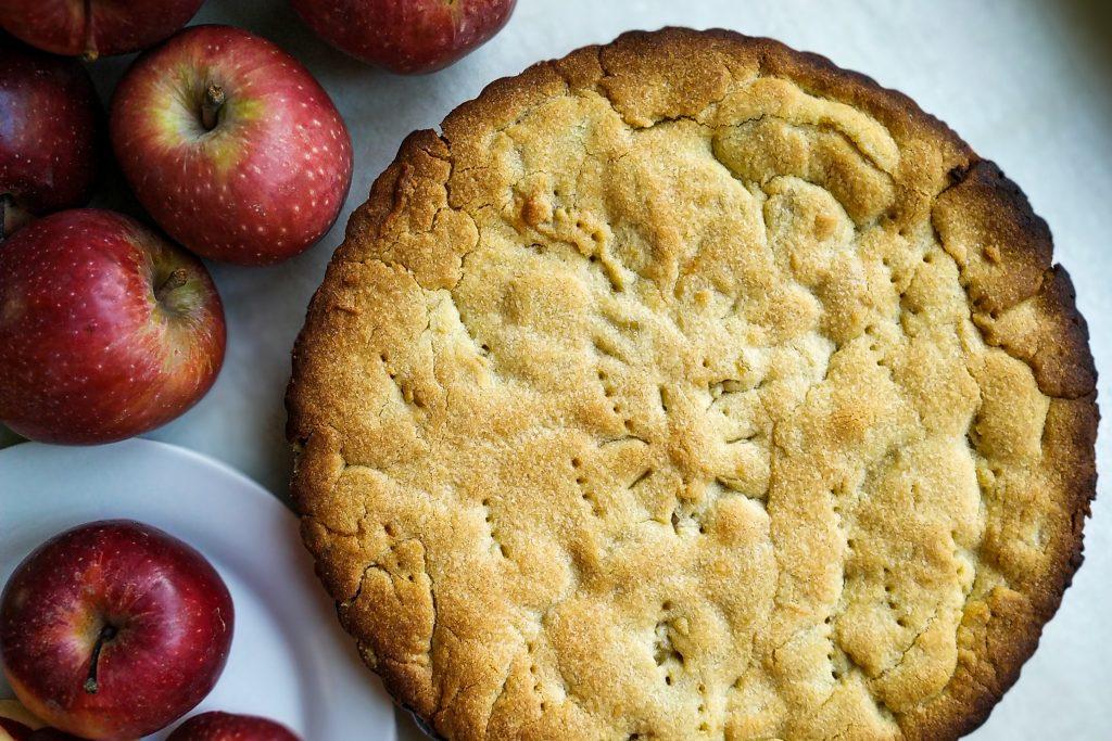 polikala milopita grecki jabłecznik greckie jasto jabłkowe grecka szarlotka