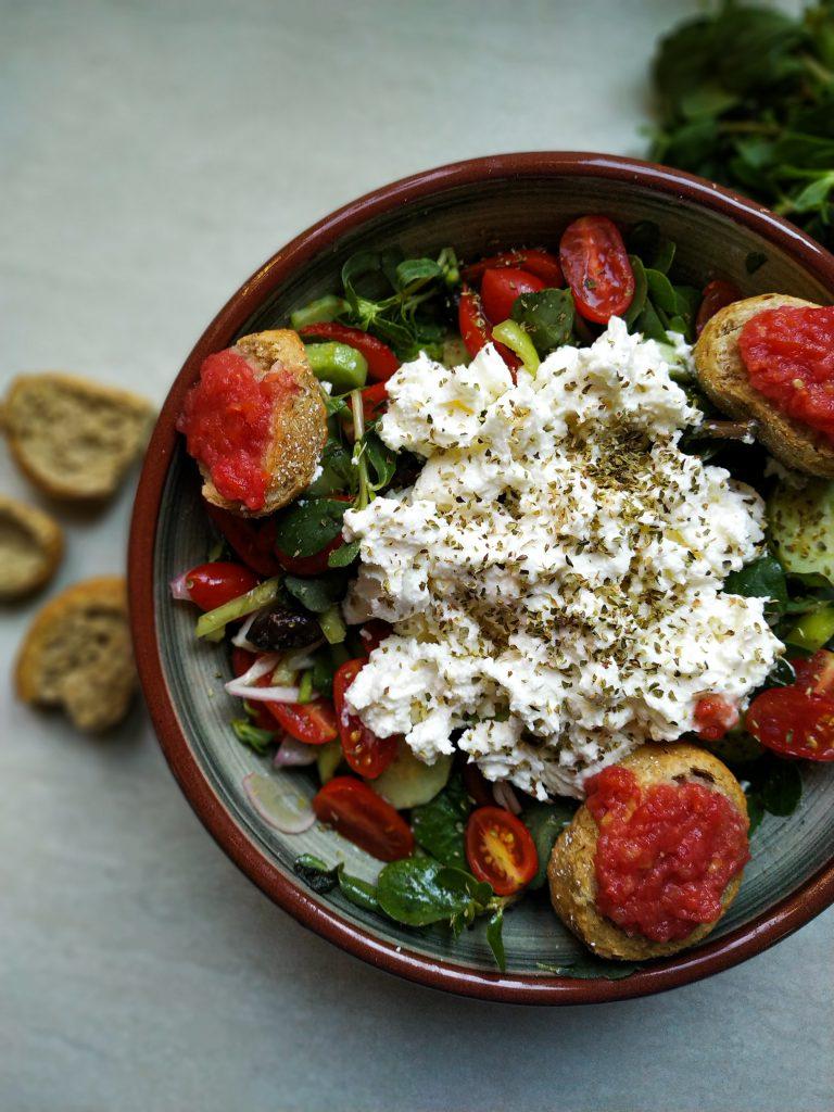 polikala sałatka kreteńska sałatka grecka kritiki salata sałatka z krety