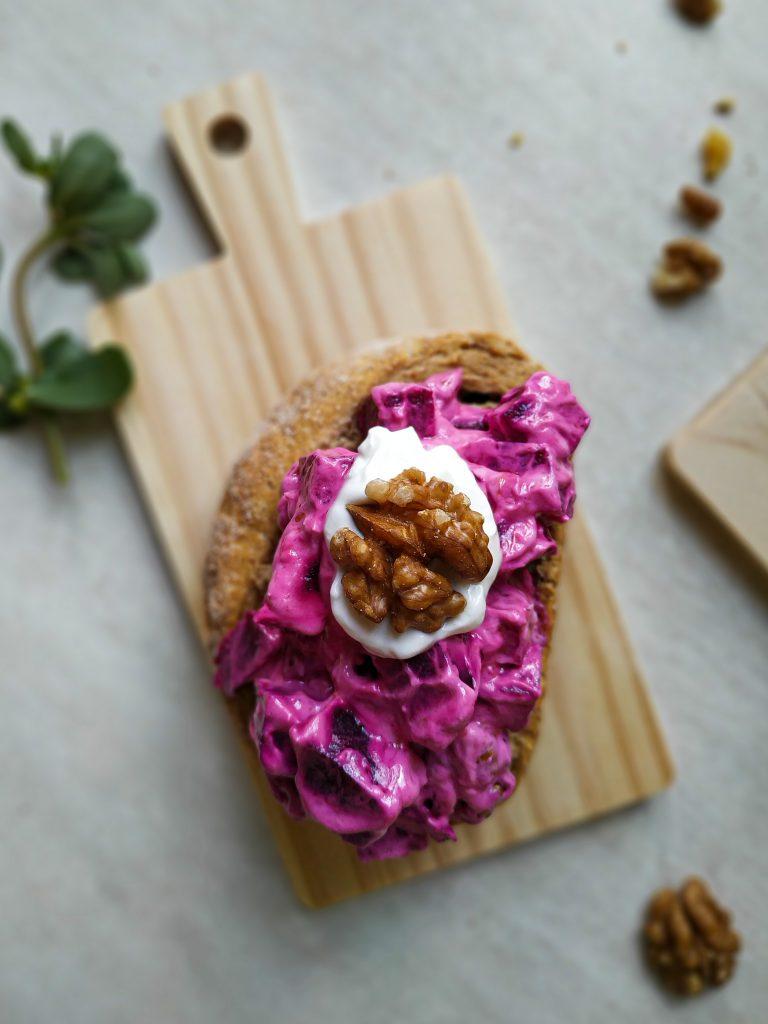 polikala pantzarosalata grecka sałatka salatka z buraków burakow