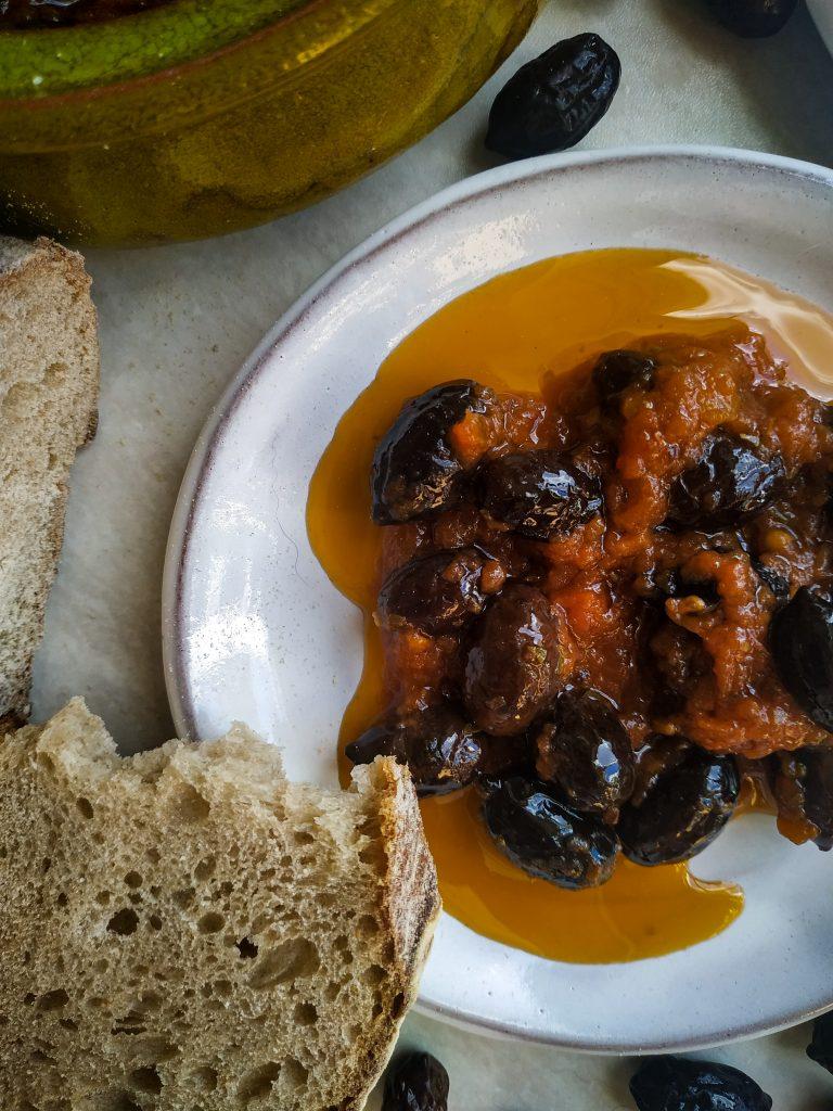 polikala smażone oliwki elies tiganites