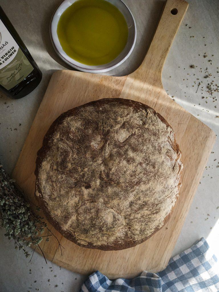 polikala eliopsomo grecki chleb z oliwkami
