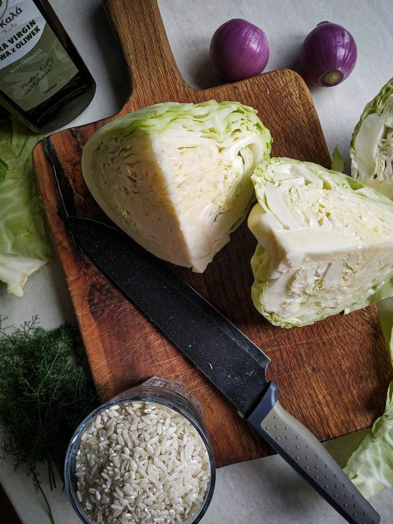 polikala lahanorizo greckie risotto z kapustą kapusta