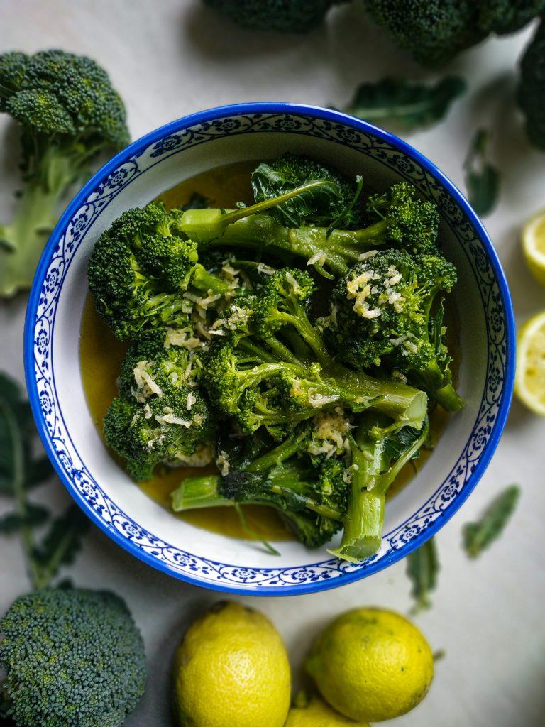 polikala brokolo wrasto gotowane brokuły najlepsze brokuły jakie jadłam