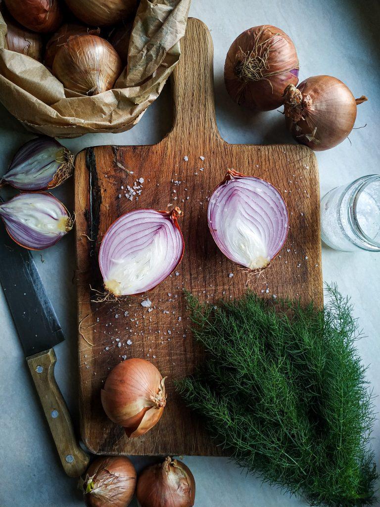 polikala kremidokalitsounia kalitsounia z cebulą pierogi z Krety z cebulą i koprem włoskim