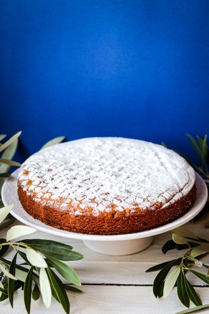 polikala fanouropita ciasto dla swietego fanouriosa ciasto greckie ciasto wegańskie weganskie